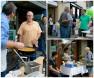 food vendor collage