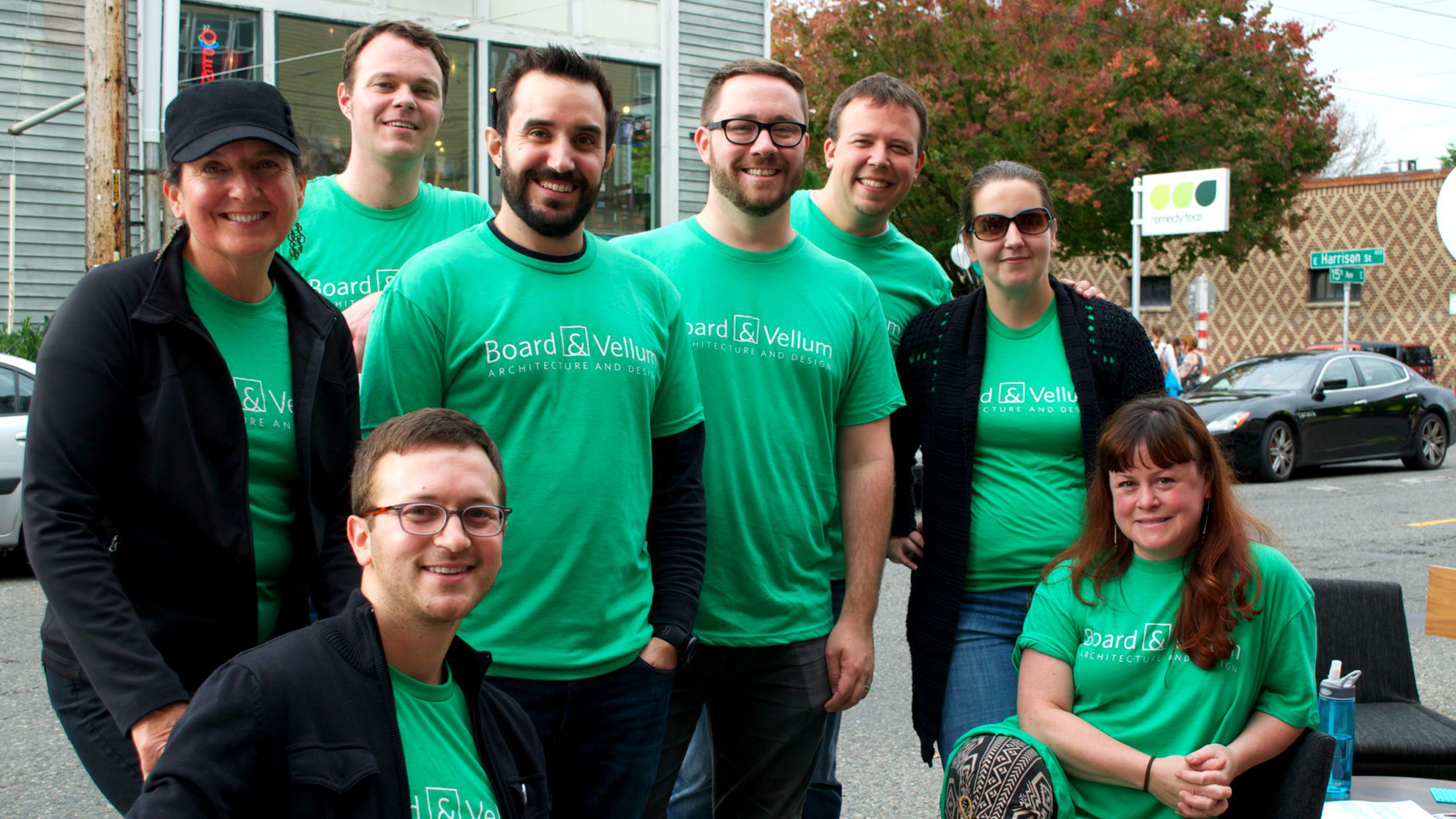 How Architects Can Be Model Citizens: The B&V Team at the Street Fair - Cropped for Featured Image
