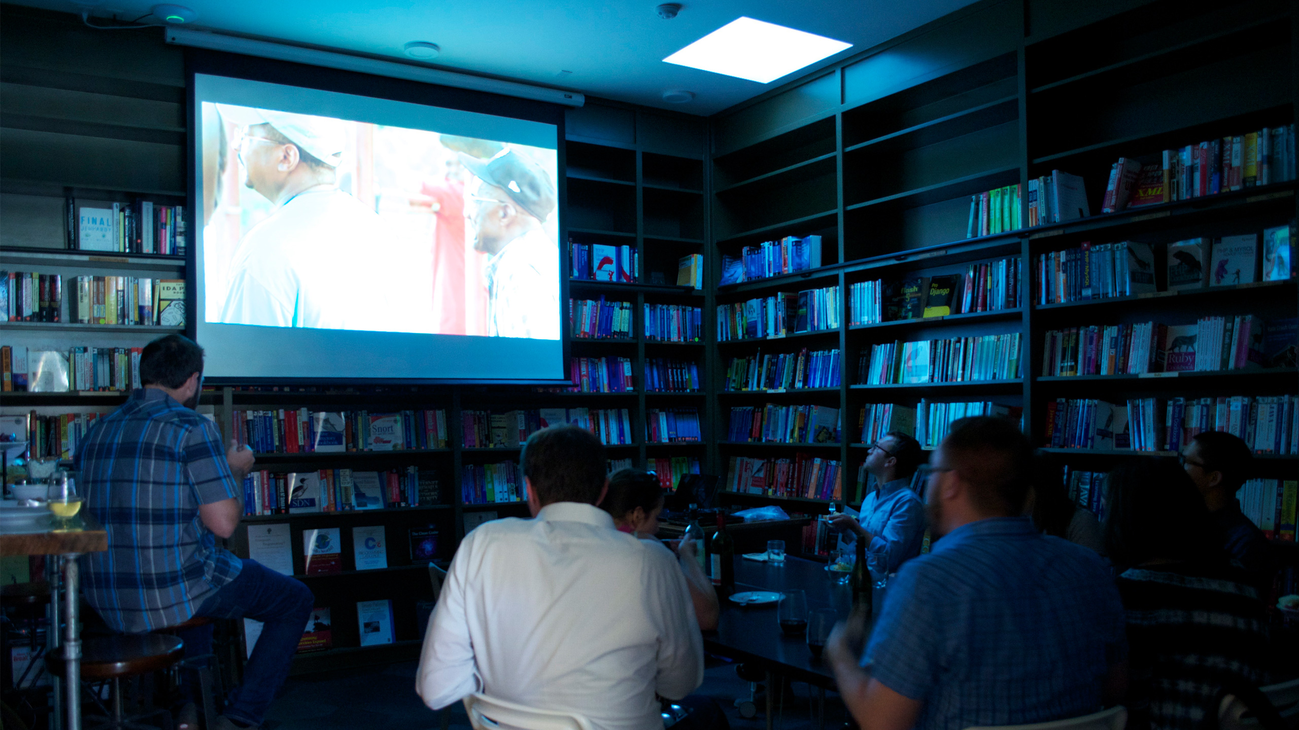 Night School Recap: Screening at Ada's - Cropped for Featured Image