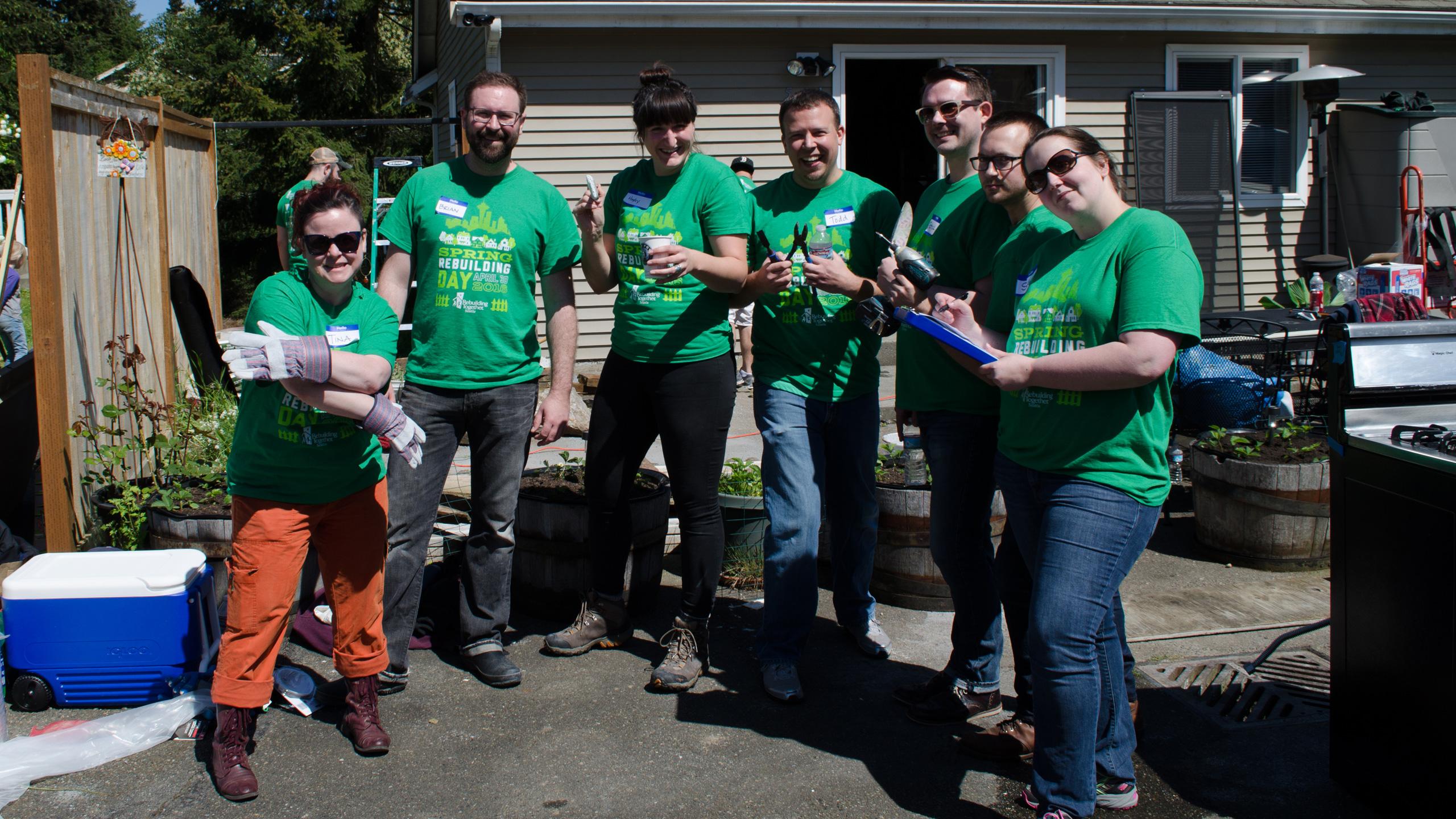Rebuilding Together Seattle: Board & Vellum Volunteers –