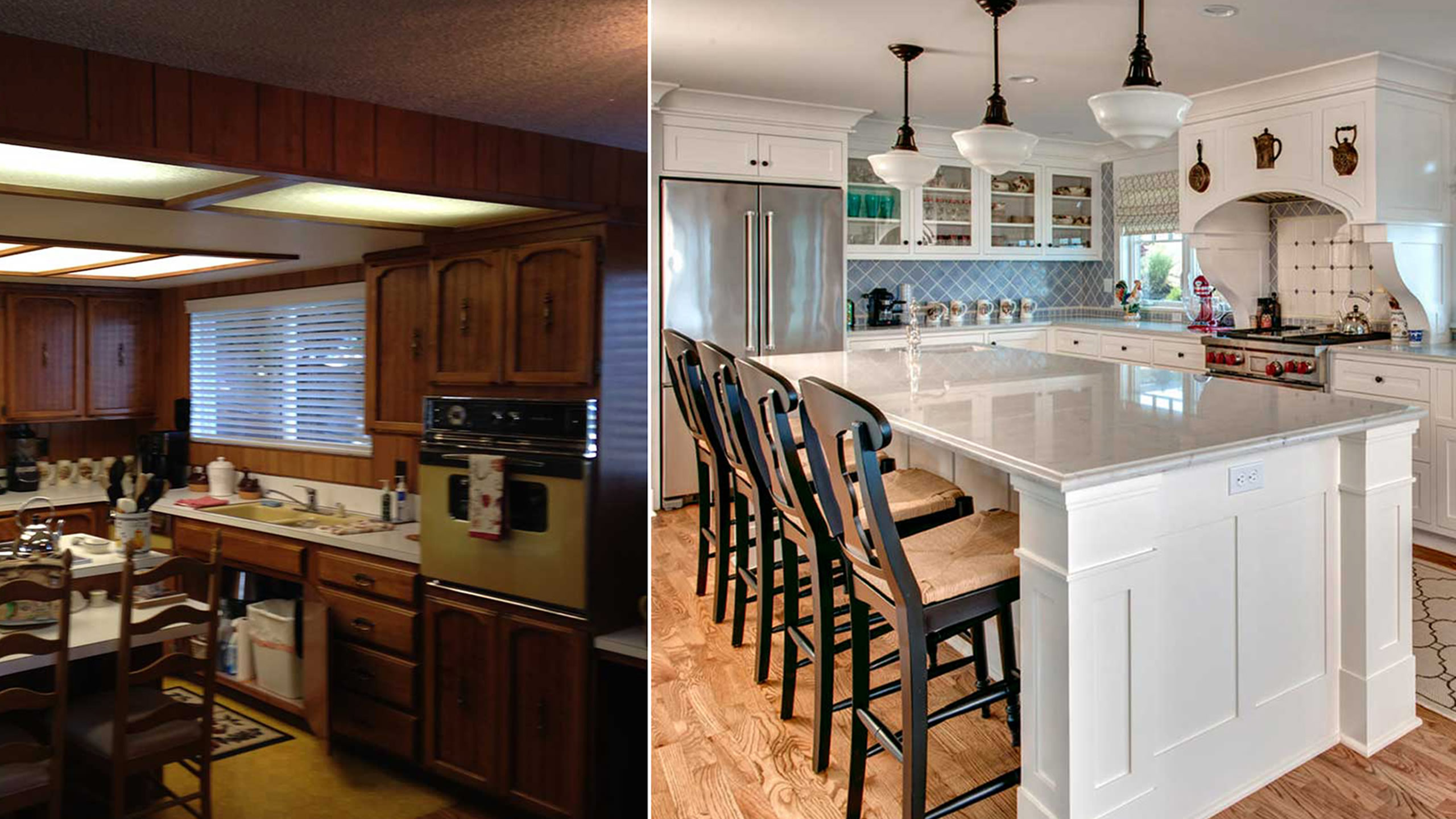 Remodel of a 1960s Home  – Sound Landing: Before & After – Board & Vellum