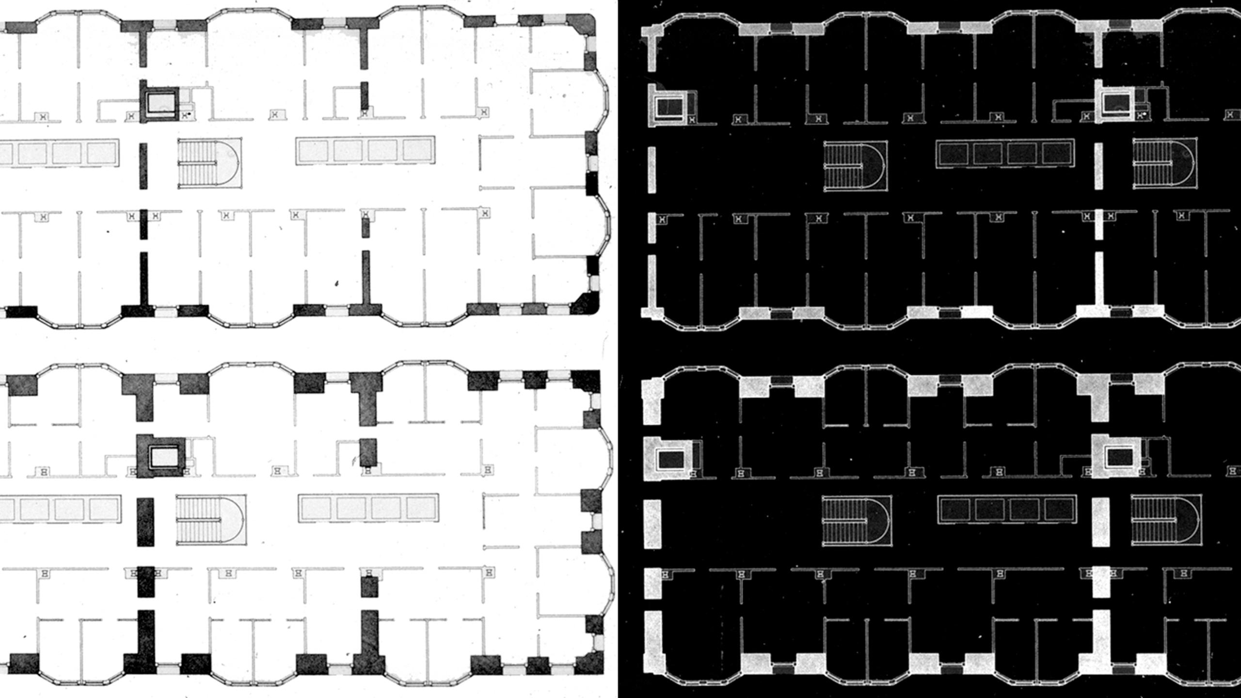 Authenticity in Design: Monadnock Building Floor Plans – Board & Vellum Night School