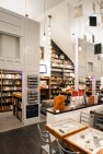 Custom bookshelves. – Ada's Technical Books & Café – Retail Design – Board & Vellum