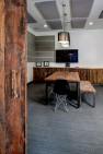 Ballard Work Loft – Rustic Wood Details in a Modern Conference Room – Board & Vellum