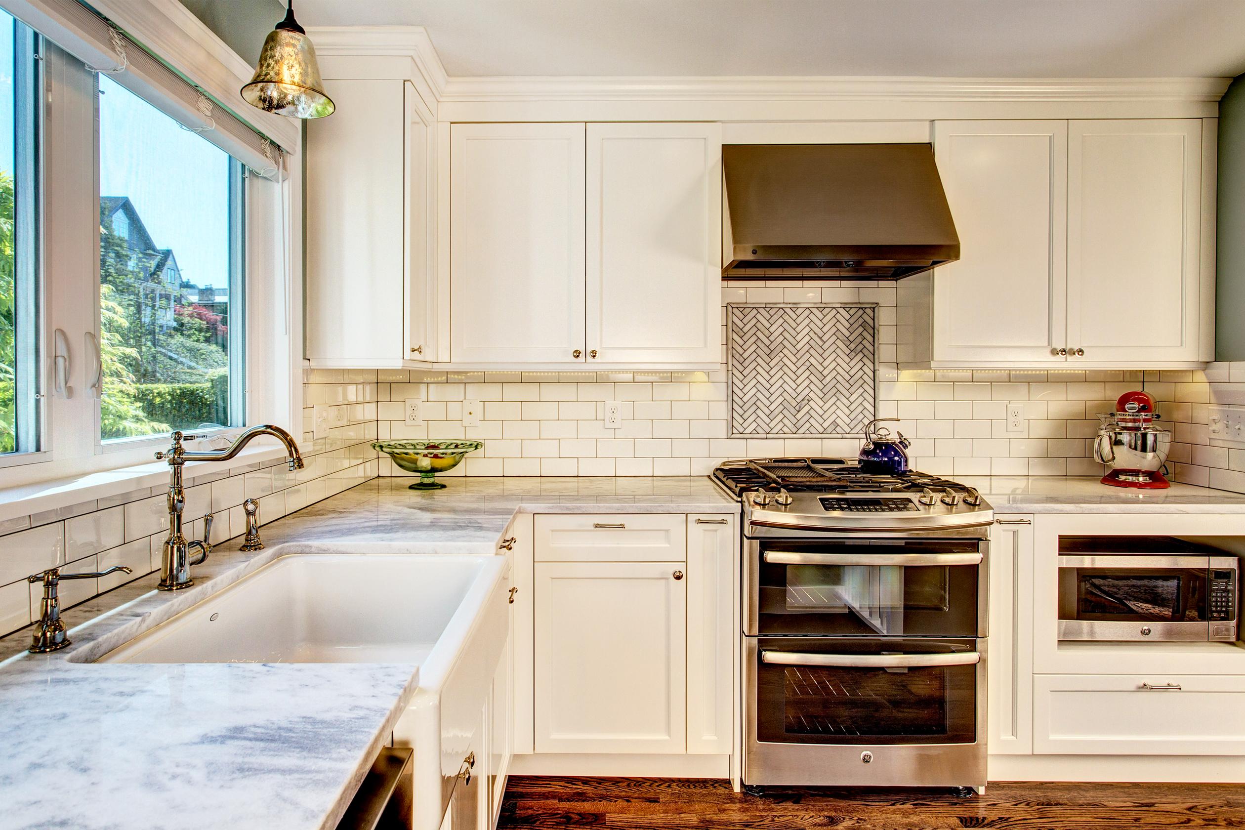 Classic Laurelhurst Kitchen Remodel In Traditional Home Board Vellum